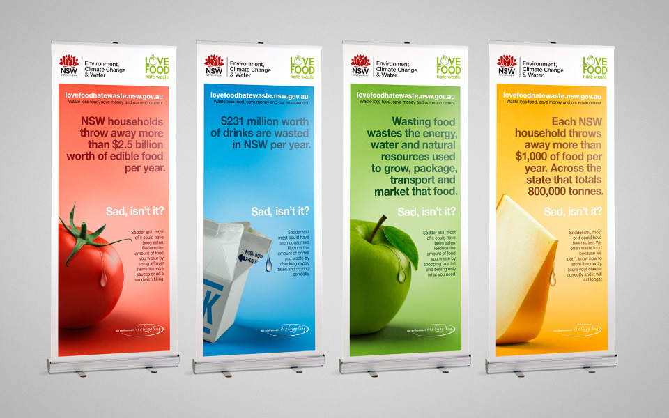 Love Food Hate Waste Campaign Identity