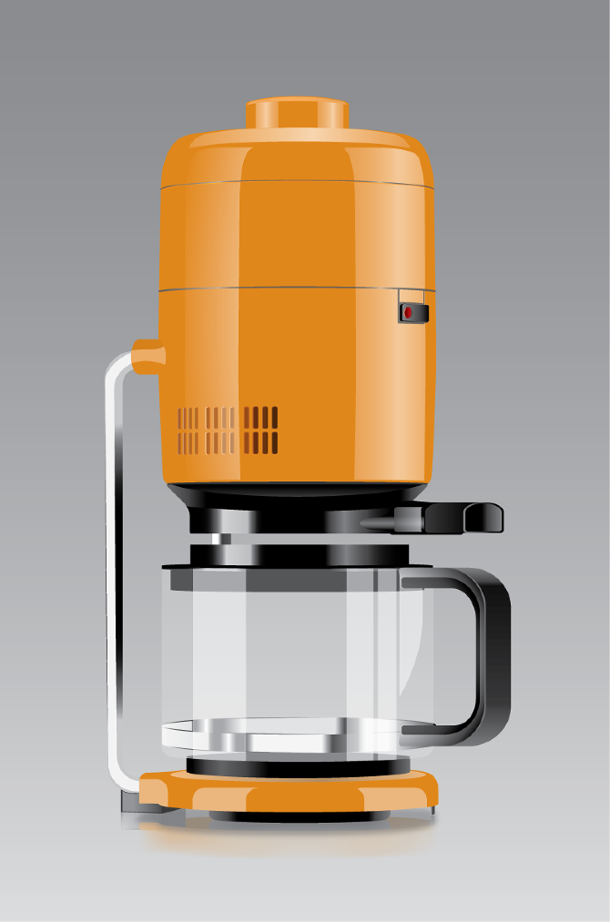 Braun Coffee Maker How To Use : Product Illustrations - AFHDesign
