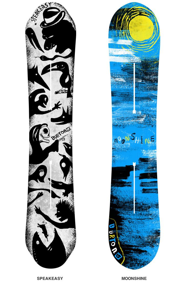 Burton Snowboard Design Submission Ryan Putnam