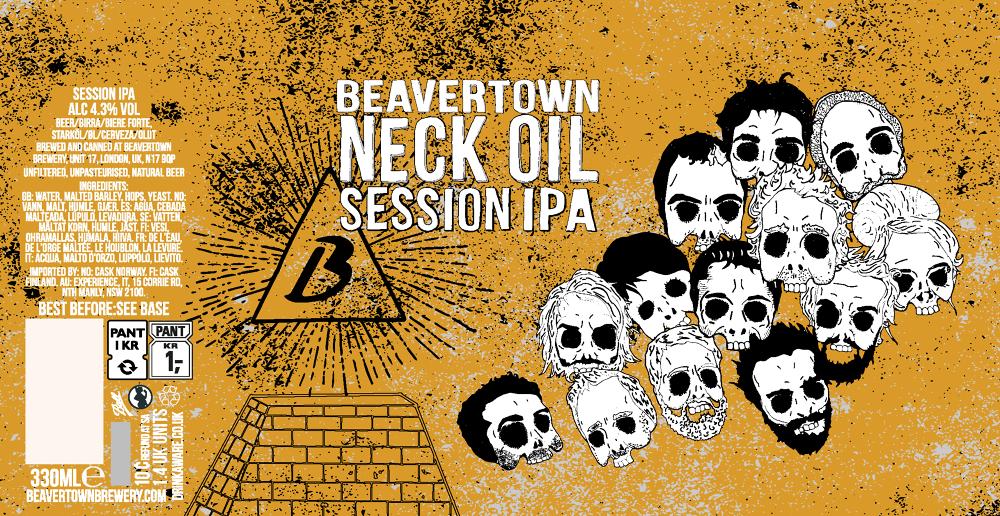 Neck Oil - Beavertown Brewery Beaver